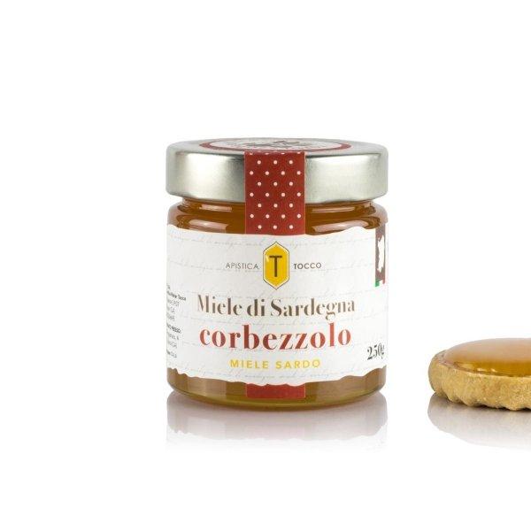 Honig des Erdbeerbaums, Miele di Sardegna Corbezzolo, 250g, Apistica Tocco, Sardinien