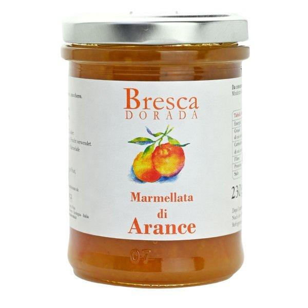 Orangen Marmelade, Marmellata di Arance, herrlich fruchtig, 230g, Bresca Dorada, Sardinien