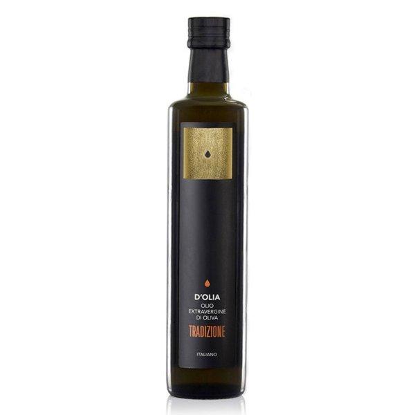 "Olio Extravergine di Oliva ""Tradizione"", Natives Olivenöl extra, kaltgepresst, 500 ml, DOlia Sardinien"