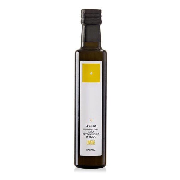 Condimento Olio Extravergine al Limone, Extra Natives Olivenöl mit Zitrone, 250 ml, DOlia Sardinien
