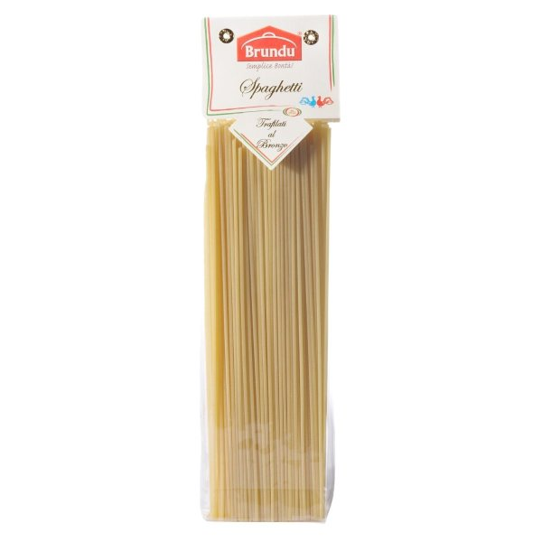Spaghetti N°5, Trafilati al Bronzo, 500g, Pasta, Nudeln, Brundu Pastifico, Luxury Line
