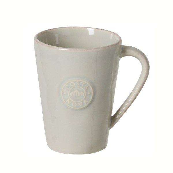 Kaffee-Becher Tasse, Grau, Costa Nova, Nova Grey, 35 cl, 12 x 9 cm