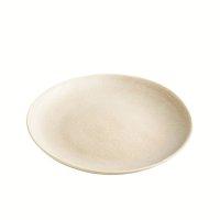 Teller aus Feinsteinzeug, rund, sand / beige, 22 cm,...
