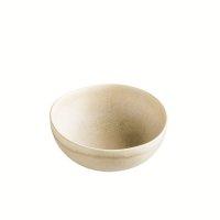 Schale aus Feinsteinzeug, rund, sand / beige, small, 11 x...