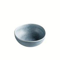 Schale aus Feinsteinzeug, rund, anthrazit / grau, small,...