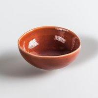 Schale aus Feinsteinzeug, rund, red / rot, small, 11 x 5 cm, Mesapiu, 3Color