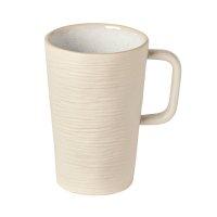 Kaffee Tasse Becher mit Henkel, Sand, Costa Nova, Nótos Dune Path, 28cl, 11,9 x 8 cm