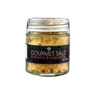 Gourmet-Salz, Kurkuma & rosa Pfeffer, 120g, Ritonka, Österreich