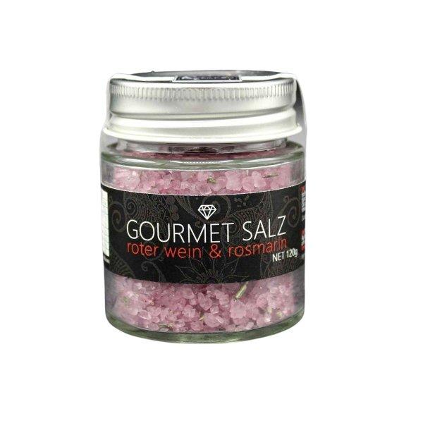 Gourmet-Salz, Rotwein & Rosmarin, 120g, Ritonka, Österreich