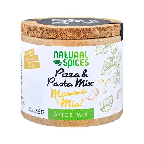 """Gewürz-Mix für Pizza & Pasta """"Mamma Mia!"""", 55g, Natural Spices, Niederlande"""
