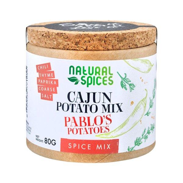 """Gewürz-Mix für Kartoffel-Gerichte """"Pablos Potato"""", 80g, Natural Spices, Niederlande"""