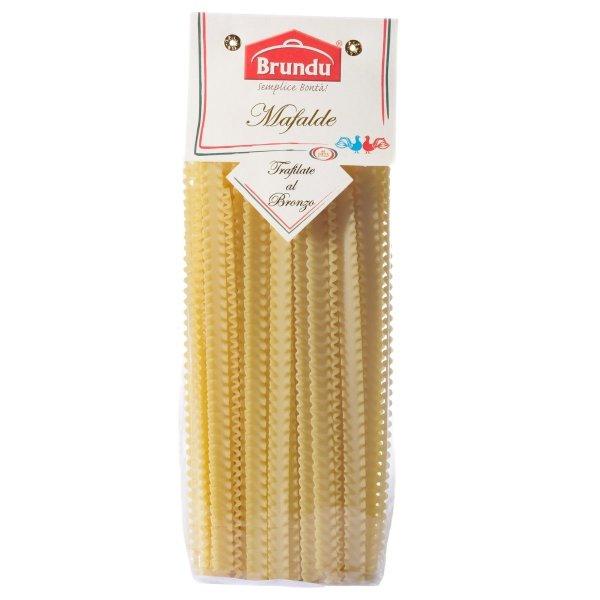 Mafalde, Trafilate al Bronzo, 500g, Pasta, Nudeln, Brundu Pastifico, Luxury Line