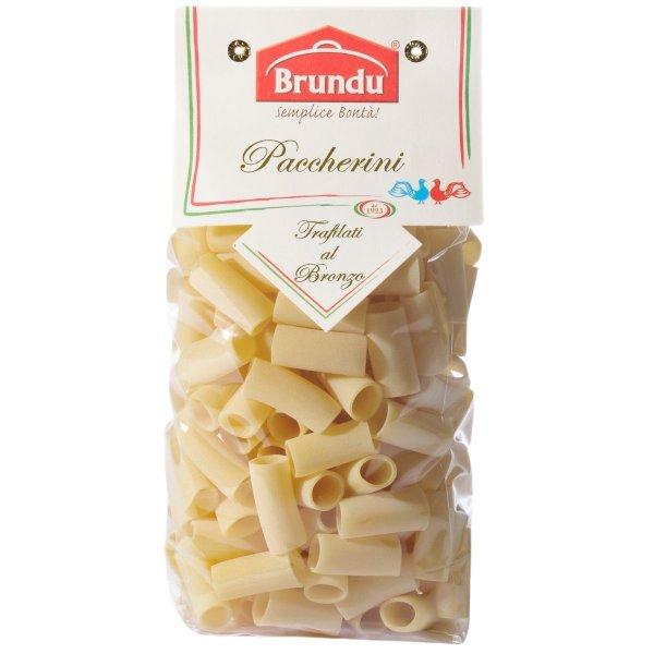 Paccherini, Trafilati al Bronzo, 500g, Pasta, Nudeln, Brundu Pastifico, Luxury Line