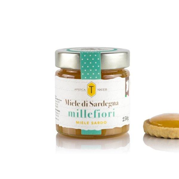 Miele di Sardegna Millefiori, Honig der tausend Blüten aus Sardinien, 250g, Apistica Tocco